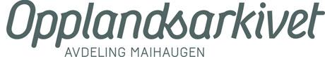Logo Opplandsarkivet avd. Maihaugen