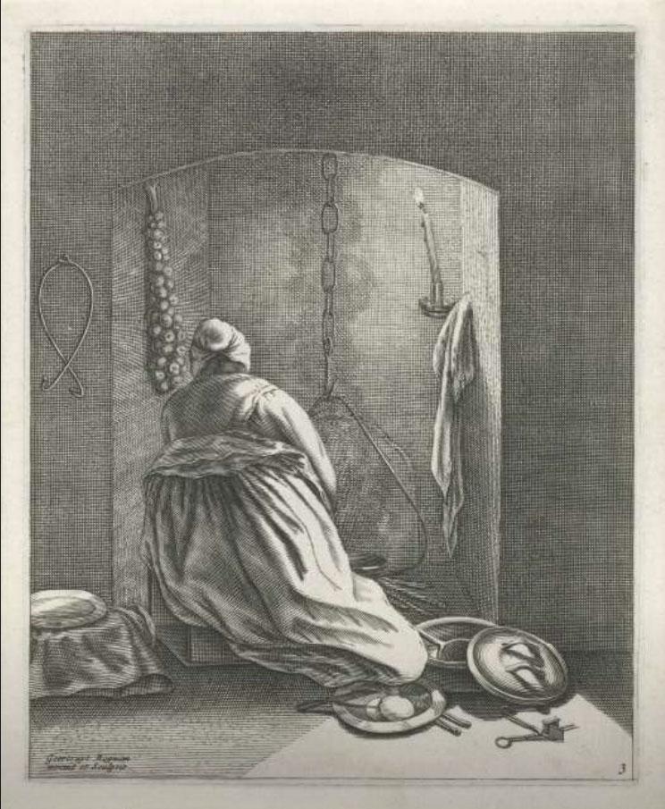 Geertruydt Roghman: Kokende vrouw 1648 – 1650